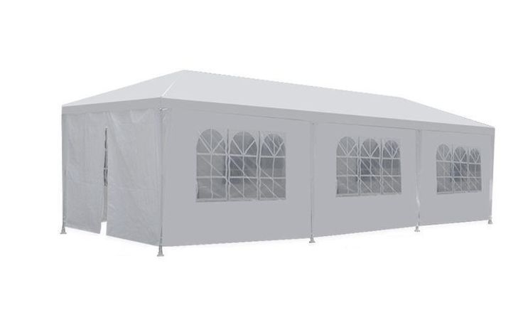 New 10'x30' White Outdoor Gazebo Canopy Wedding Party Tent 8 Removable Walls -8…
