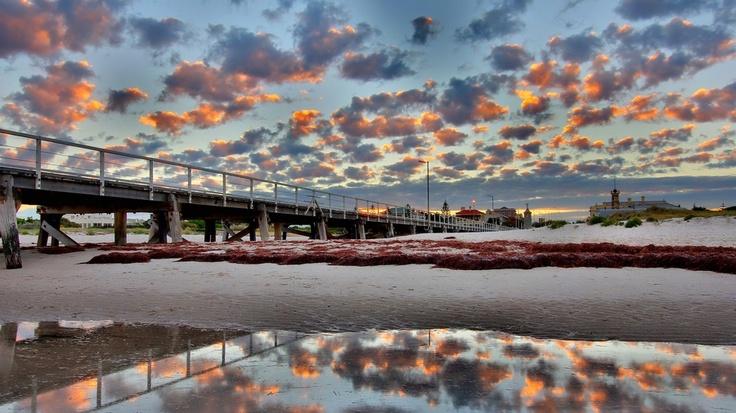 Sunrise at Semaphore Pier - Adelaide, South Australia