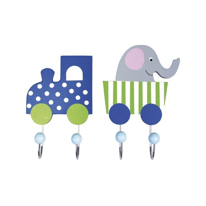 Jabadabado Krokar Elefant Blå 2 st