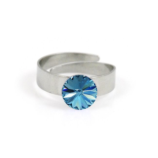 #applepiepieces #bluemonday Polestar ring aquamarine from Applepiepieces