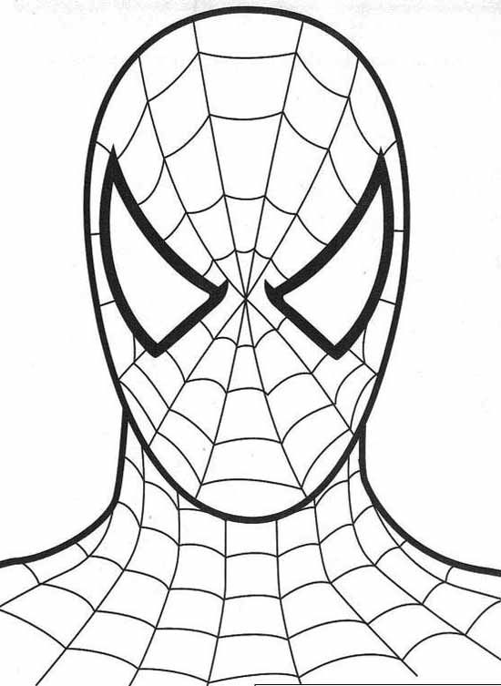 coloriage spider man