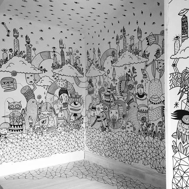 Les 25 meilleures id es de la cat gorie peintures murales for Decoration murale quimper