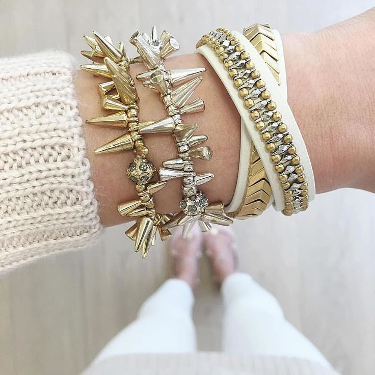 Double trouble // The Renegade is still our all-time favorite arm candy. : @janet.lowe