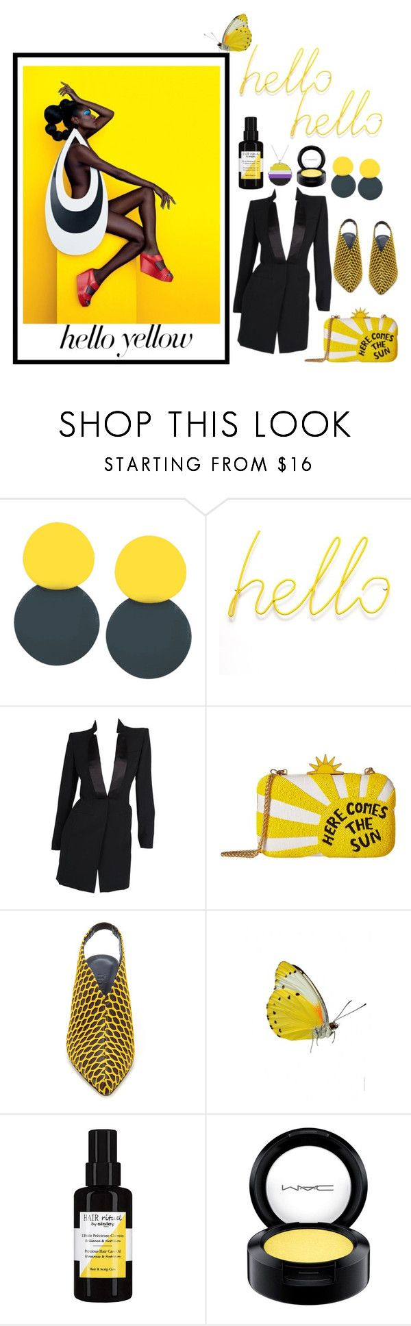 """""""I don't know why you say goodbye"""" by linnea-svensson93 ❤ liked on Polyvore featuring Alexander McQueen, Alice + Olivia, TIBI, Sisley and MAC Cosmetics"""