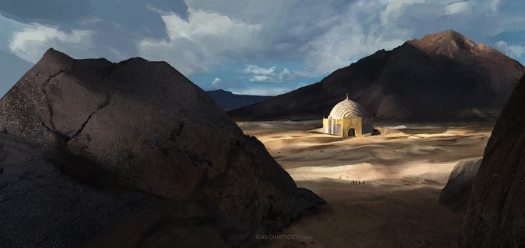ArtStation - King Solomon's Mines, ioan dumitrescu