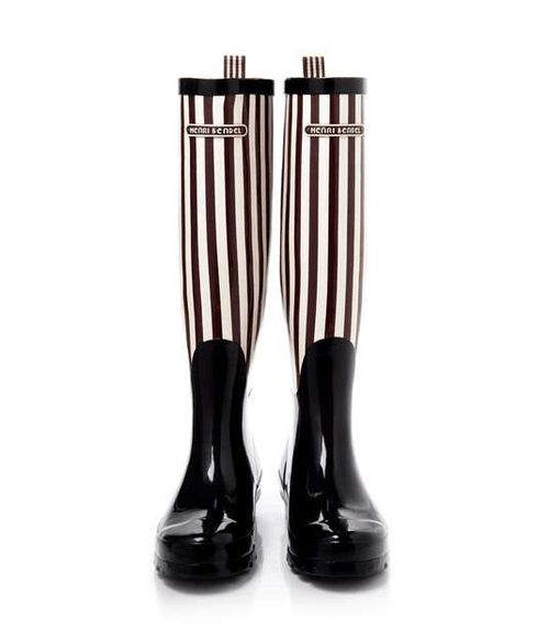 Henri Bendel New York US | Bendel Girl Stripe Wellies #heribendelnewyorkus #striped #wellies