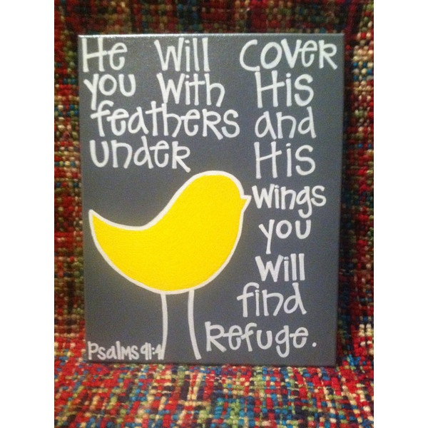 i love this idea. handmade bible verse canvas painting