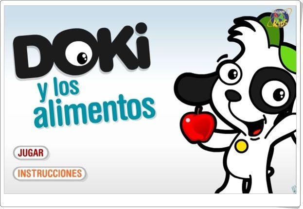 """""""Doki y los alimentos"""" (Tudiscoverykids.com)"""