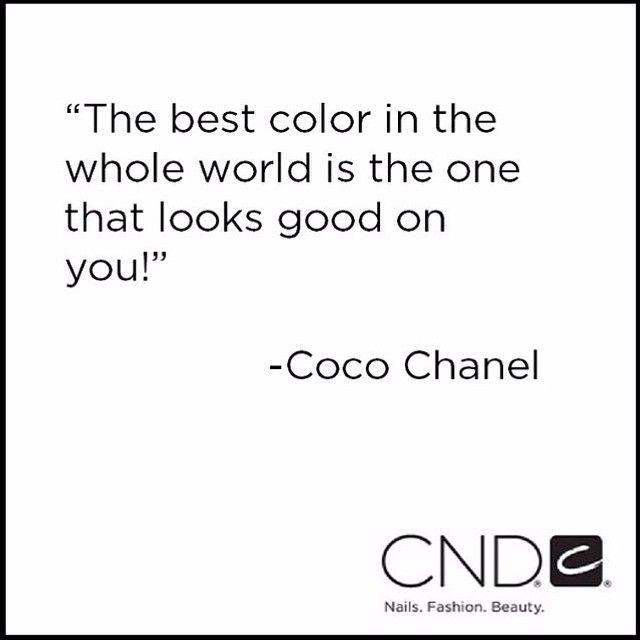 Come and choose from our large selection of #cnd and vinylux colours! #coco #Chanel #cnd