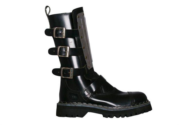 Обувь неформалов с пряжками