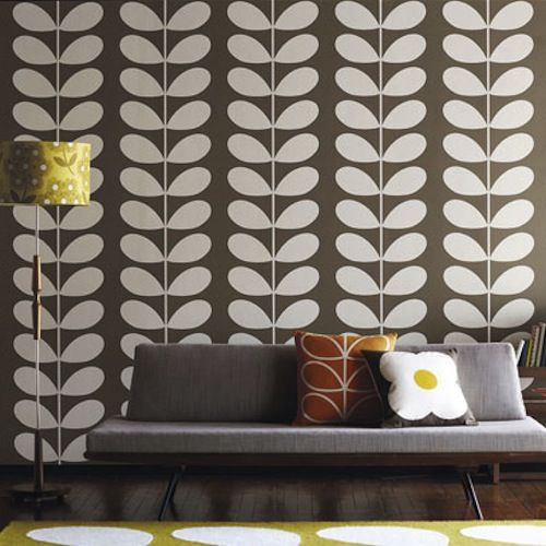 17 best images about orla kiely on pinterest dark paper and shoe stores - Decoratie wallpaper eetkamer ...