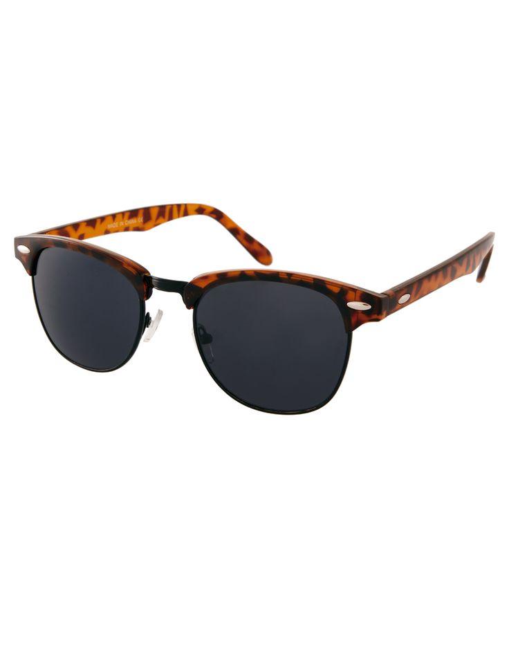 Sonnenbrille Männer Polarisierte Sonnenbrille Quadratische Taschen Rahmen Sonnenbrille Kaffee Streifen Gold Rahmen , Schwarzer Rahmen Schwarzer Rahmen