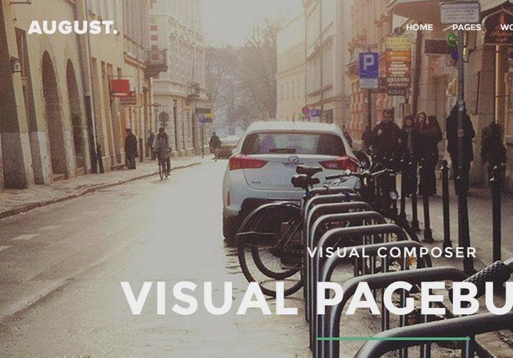 August - Multi-Purpose Responsive WordPress Theme