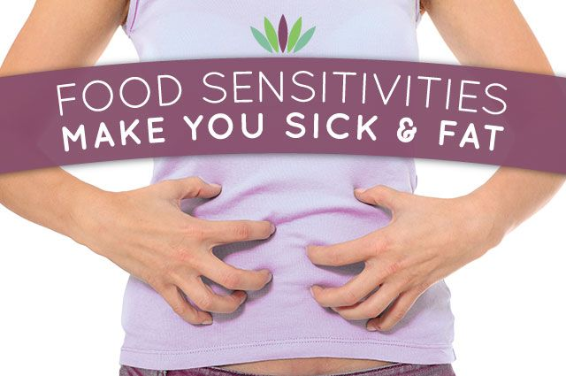 This is a very informative article:)  Food Sensitivities Make You Fat and Sick - Live to 110