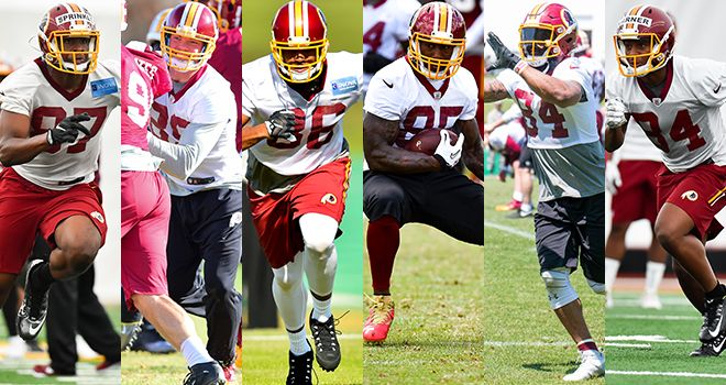 2017 Redskins In Richmond: Tight Ends