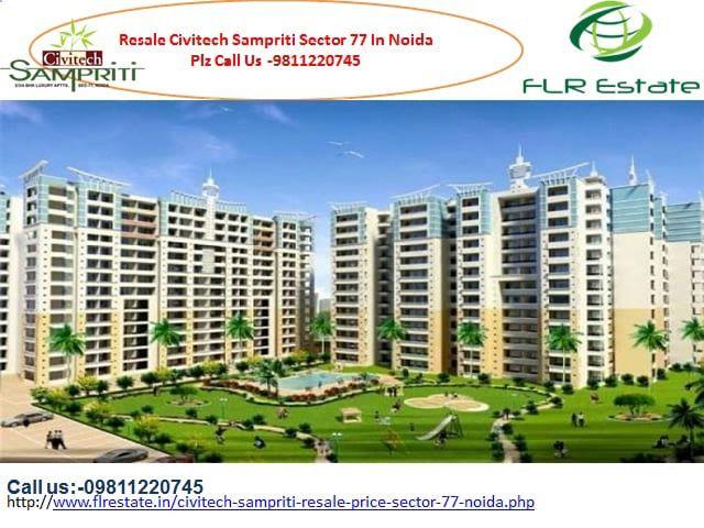 """Call us at 9811220750 resale flats in civitech sampriti in noida sector 77, civitech sampriti floor plan, price list,layout, ready to move flats in civitech sampriti noida"""" />"""
