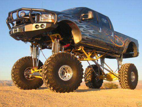 big 4x4 lifted trucks