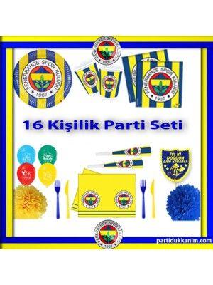 Fenerbahçe Parti Seti 16 Kişilik (Ürün Hediyeli)