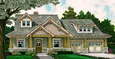 Exclusive Three Bed Country Craftsman - 48520FM | 1st Floor Master Suite, CAD Available, Country, Craftsman, Den-Office-Library-Study, Exclusive, Jack & Jill Bath, PDF, Split Bedrooms | Architectural Designs
