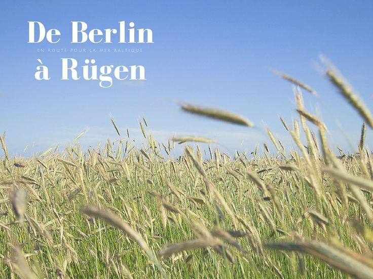 Direction la mer Baltique en Allemagne pour la découverte de l'ile de Rügen, la plus grande d'Allemagne