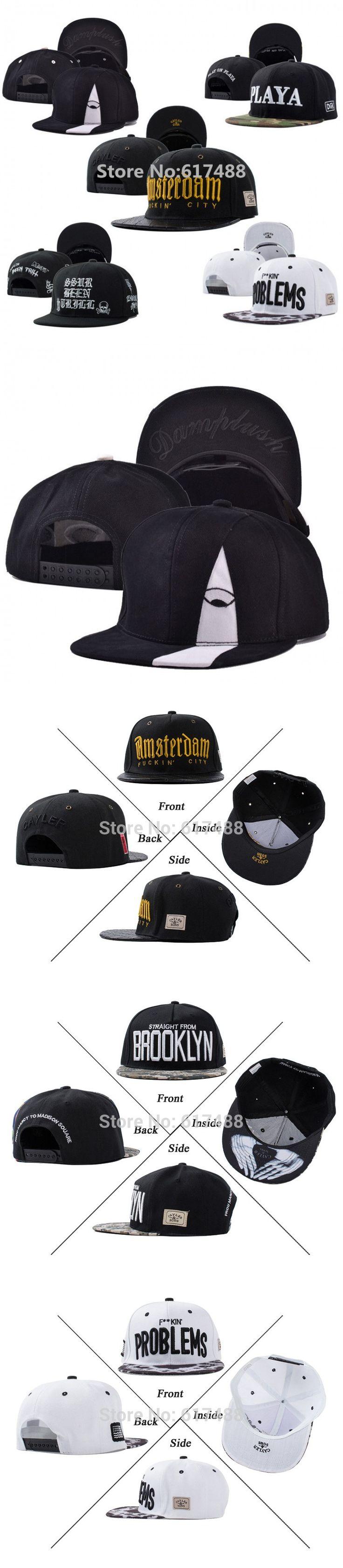 New Fashion 2015 Gorras Snapbacks Caps Skull Letter Cayler Sons Hip Hop Cap Baseball Caps Skateboard Hats Casquette Men Women $8.8