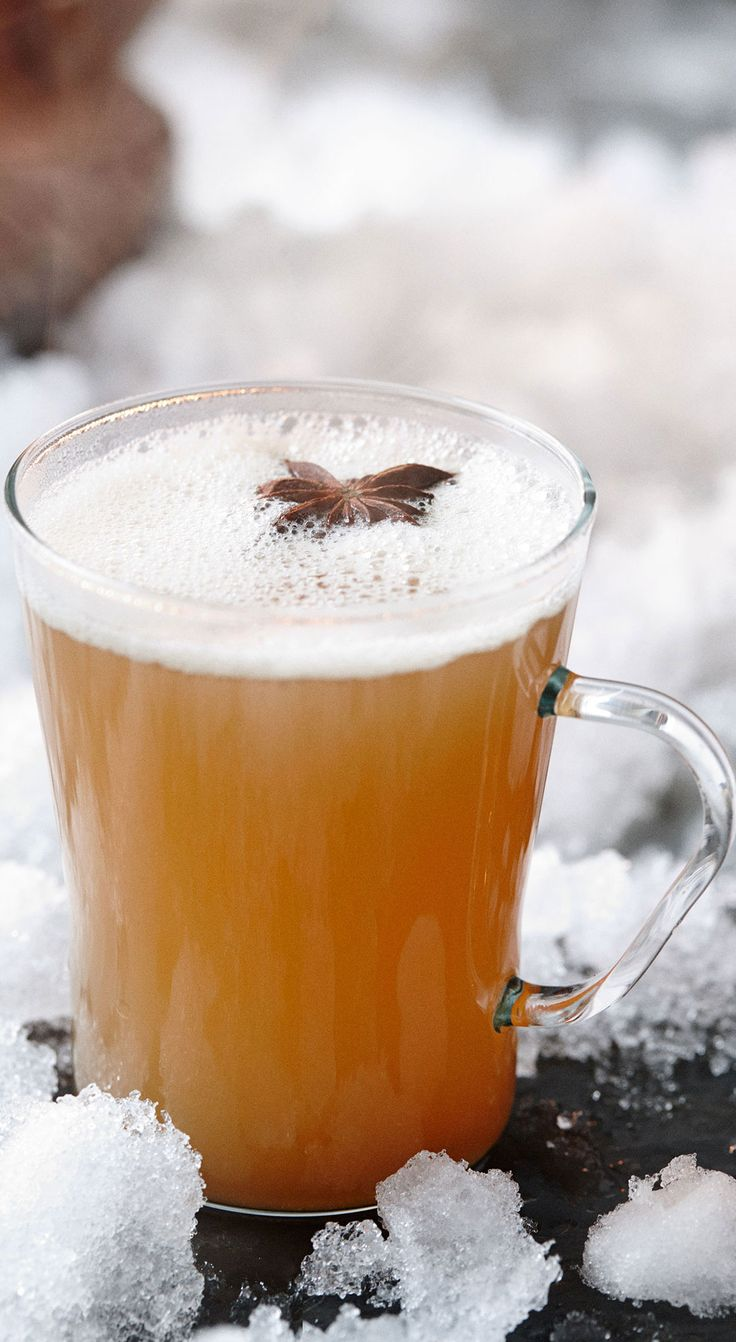 Hot toddy, Apple cider and Cocktails on Pinterest