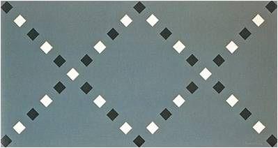 Luiz Sacilotto. Estruturação com Elementos Iguais, 1953. (expressionismo abstrato)