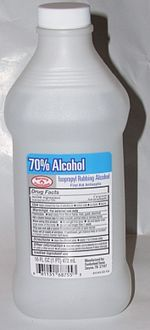 Alcohol has so many uses a must keep at all times items! Put alcohol in a spray bottle as relief for itchy skin or bug bites. You can even spray your dogs paws after he returns inside from a long walk!Fleas hate alcohol: Ink Stained, Clean Bathtubs, Carpets Stained, Rubbed Alcohol, Red Fabrics, Clean Ideas, Alcohol Rubbed, Dark Colors, Isopropyl Alcohol
