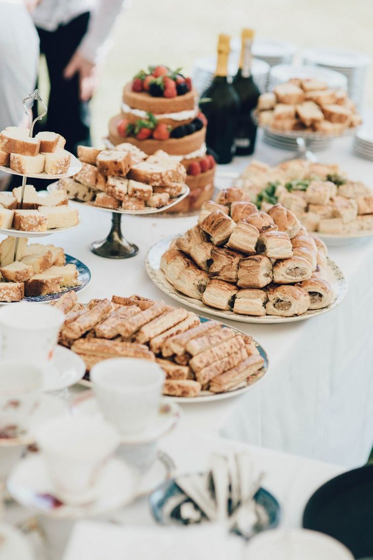 Afternoon Tea Summertime Pastel English Country Garden Wedding http://alipaul.com/                                                                                                                                                                                 More