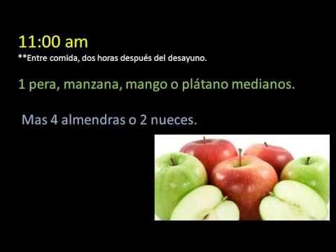 Dieta CRASH  baja 10 kilos en un mes ♥ - YouTube