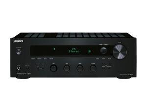 Onkyo TX-8030 B stereoreceiver, sort FM, univ.port, pre & sub ut, 2x130W
