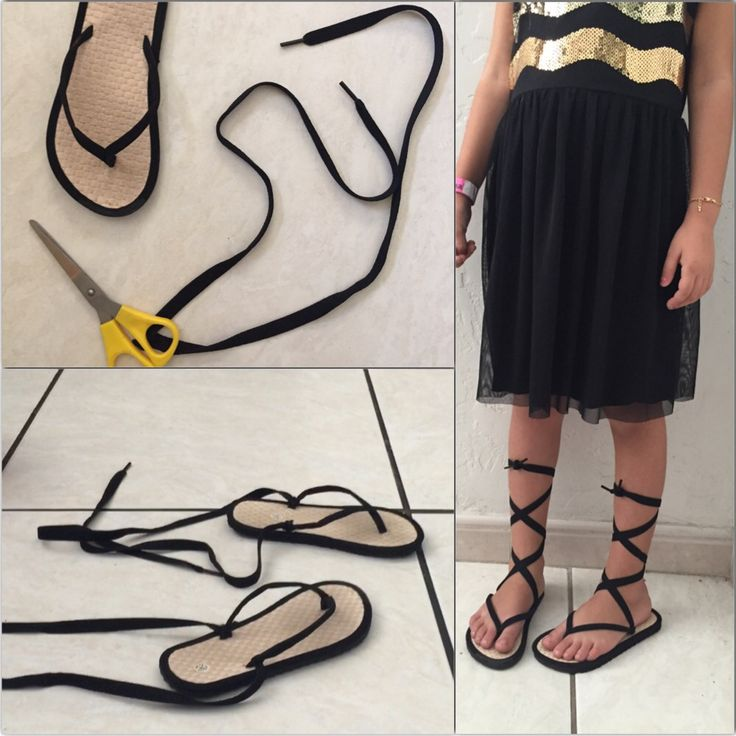DIY GLADIATOR SANDALS                                                                                                                                                                                 More