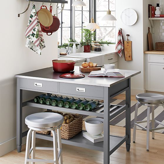 1000+ Ideas About Grey Kitchen Island On Pinterest