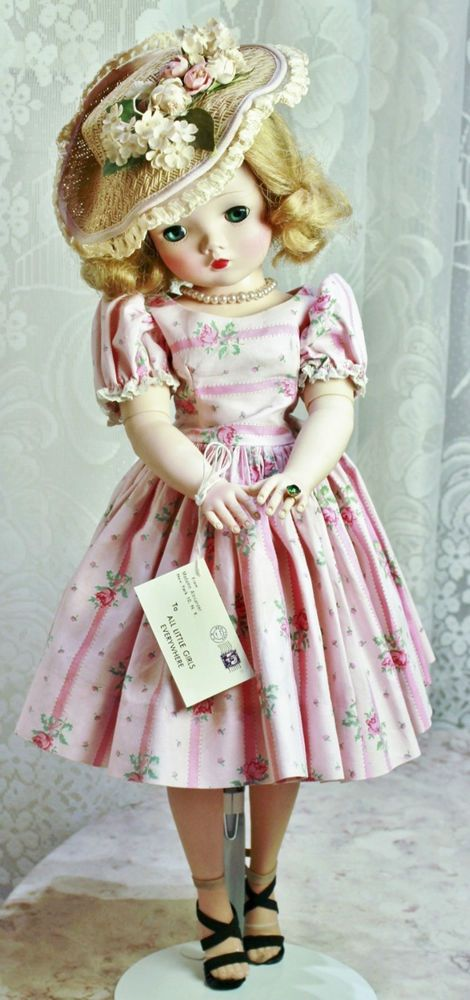 Vintage Madame Alexander Cissy Doll in Tagged Outfit!! Crispy Tag!! #MadameAlexander #DollswithClothingAccessories