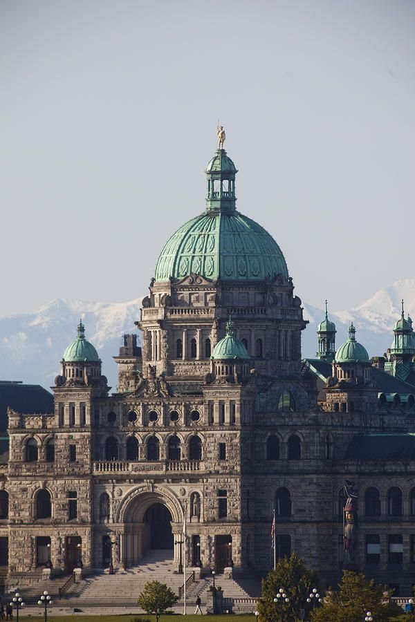 ✮ A close view of the Legislative Building, the Capital building of British Columbia, Canada