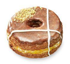 Mr.Croissant Donut 3 (ミスタークロワッサンドーナツ 3) アップル&カスタードホイップ