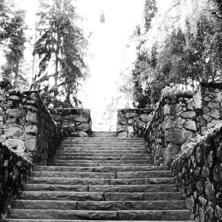 Jyväskylässä Hartjun portaat