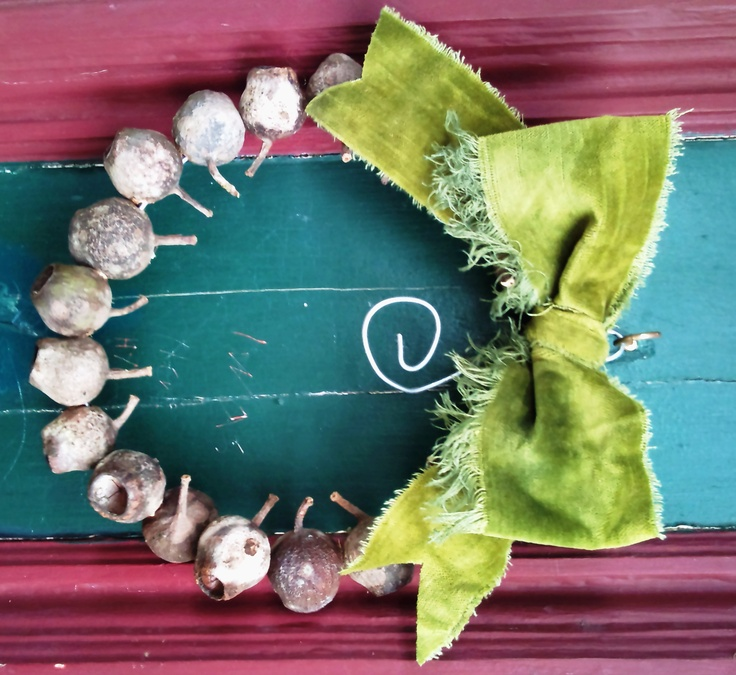 gumnut wreath  xmas