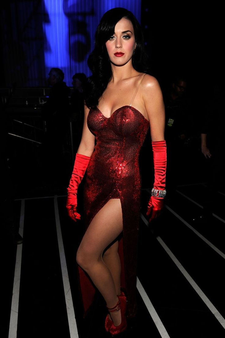 Katy Perrys red dress  Katy Perry  Pinterest  New york Girls ...