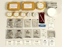 Alle Bestandteile der Einmannpackung Typ 1 auf einen Blick