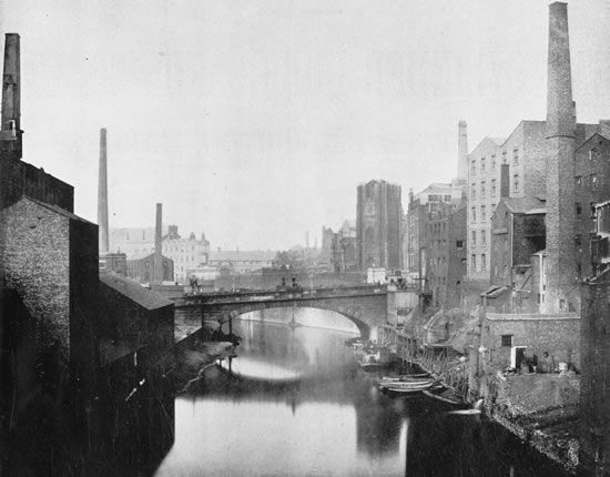 Manchester in 1843