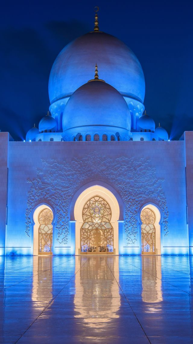 Wallpaper Masjid Portrait Mosque Masjid Night Architecture Beautiful mosque hd wallpaper