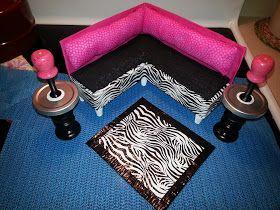 Simple Livin: DIY Barbie Doll Furniture