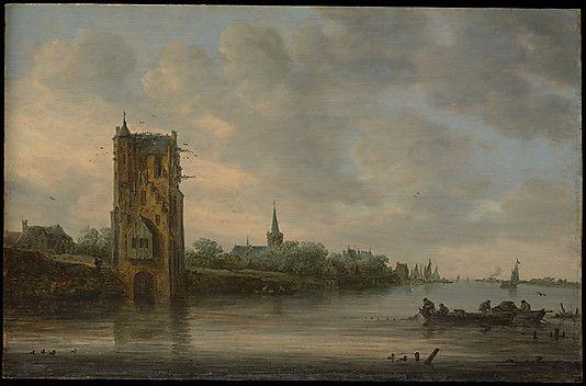 Jan van Goyen, The Pelkus Gate near Utrecht, 1646