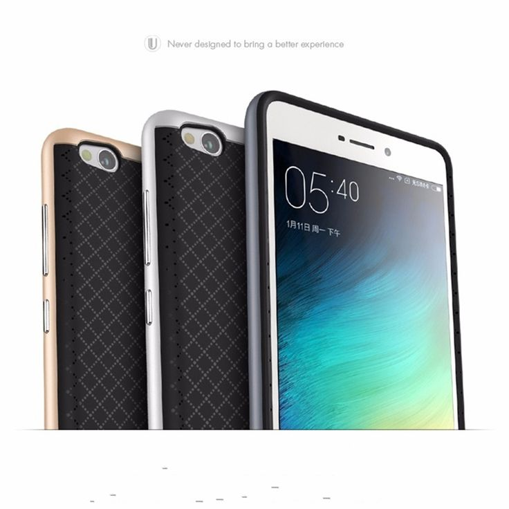For Xiaomi redmi 3S Case TPU Silicon Hybrid + PC Dual Layer Frame Back Cover For Redmi3S 3 S Pro / Prime 3X Mobile Phone -  US $3.49