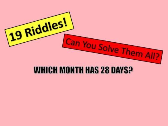 Only a logical genius can solve these notoriously impossible riddles!