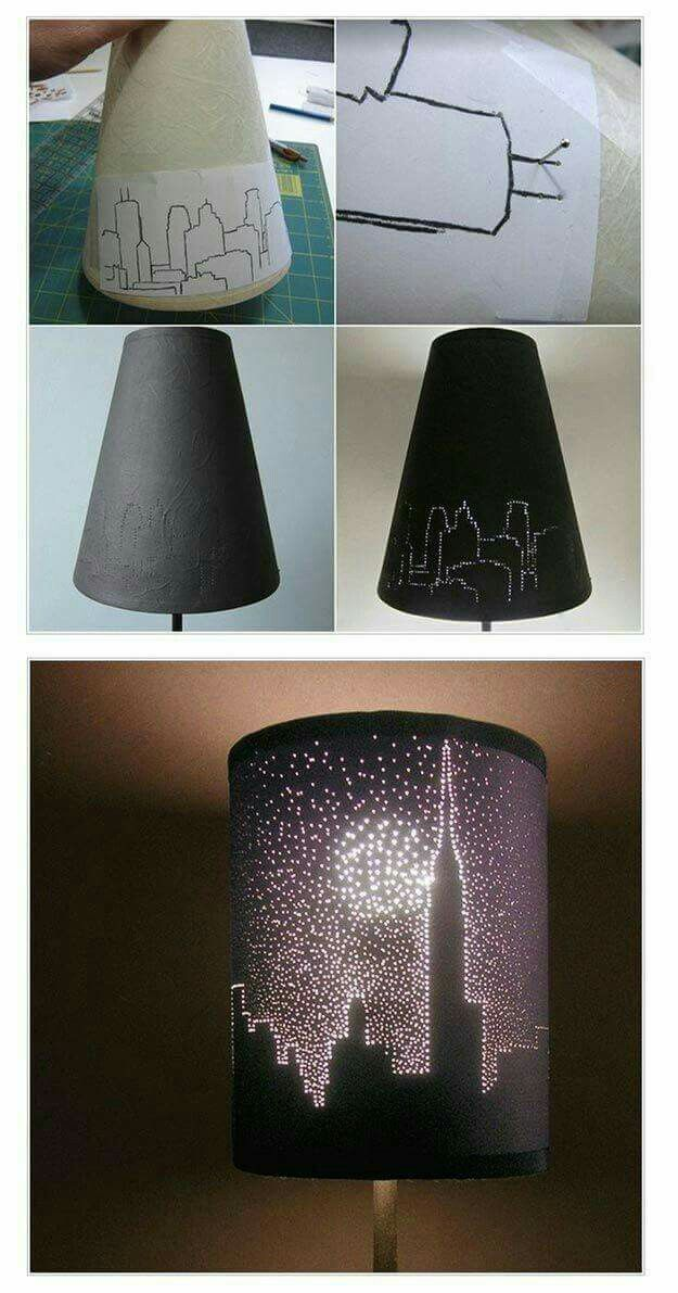 This technique will take a while but I am going to start selling lamp shades, similar to these.