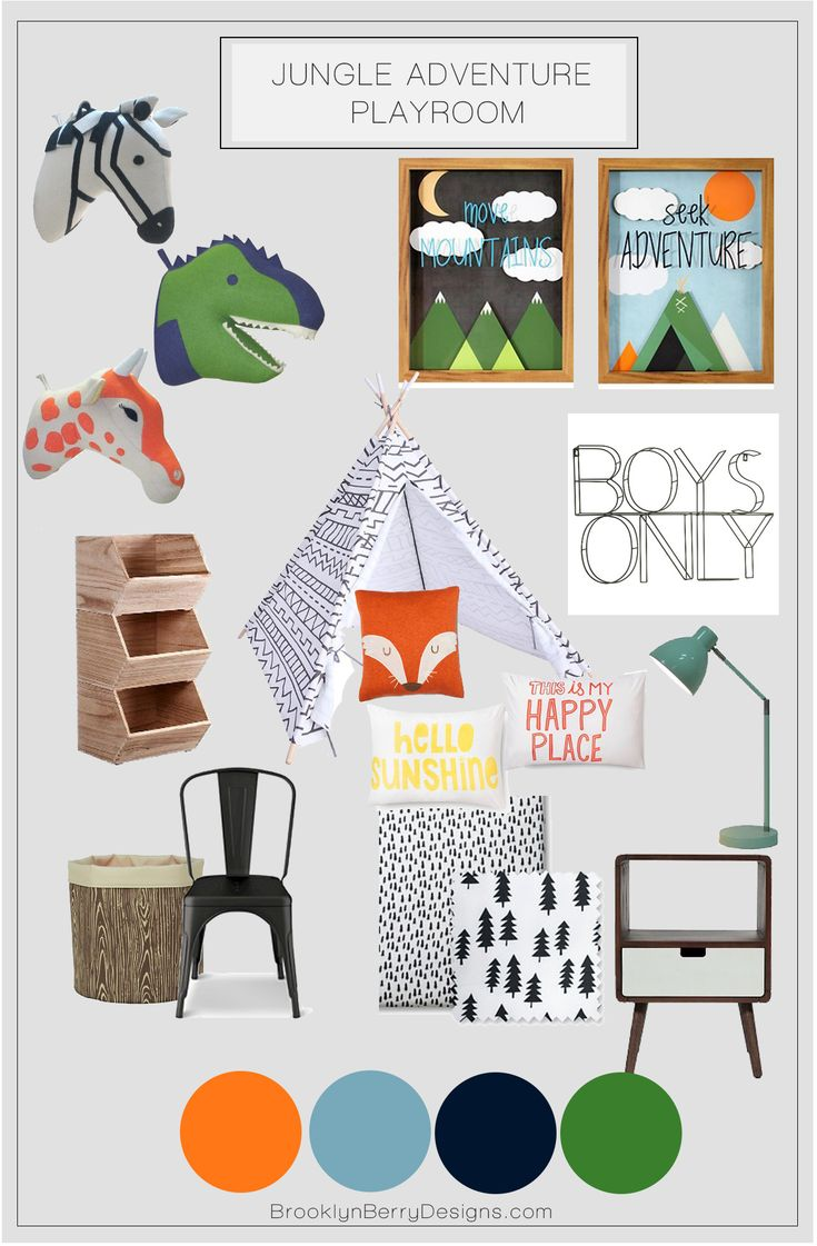 Cute ideas for a kids play room or bedroom. Could be a gender neutral bedroom for a shared room as well. All from Targets new Pillow Fort collection. Nursery Design and home decor.
