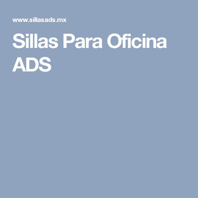 Sillas Para Oficina ADS