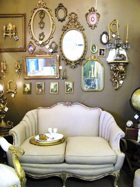 40 best Vintage & Antique Mirrors images on Pinterest | For the home, Mirror mirror and Mirrors